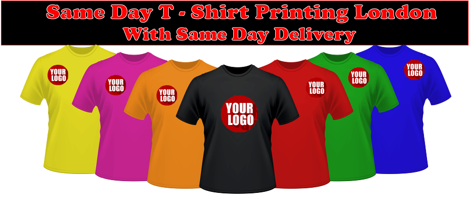 Same day t shirt printing London