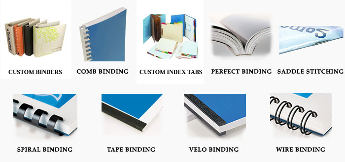 Binding London - Printing and binding services London