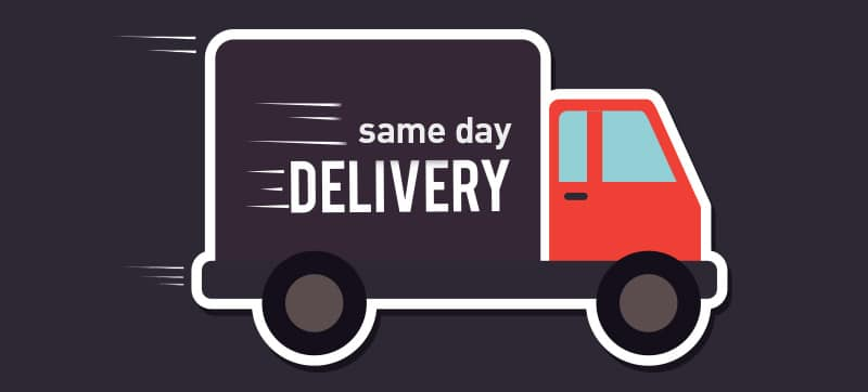 Same Day Delivery Service In London - 2 Hour instant Turnaround