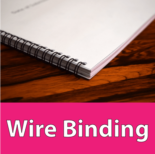 wire binding london