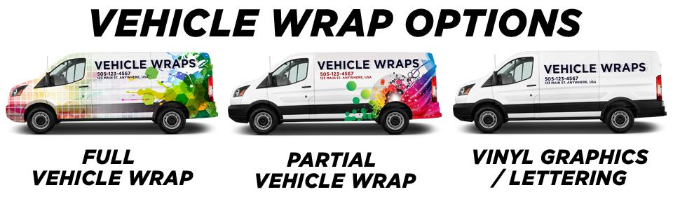 vehicle wrap options
