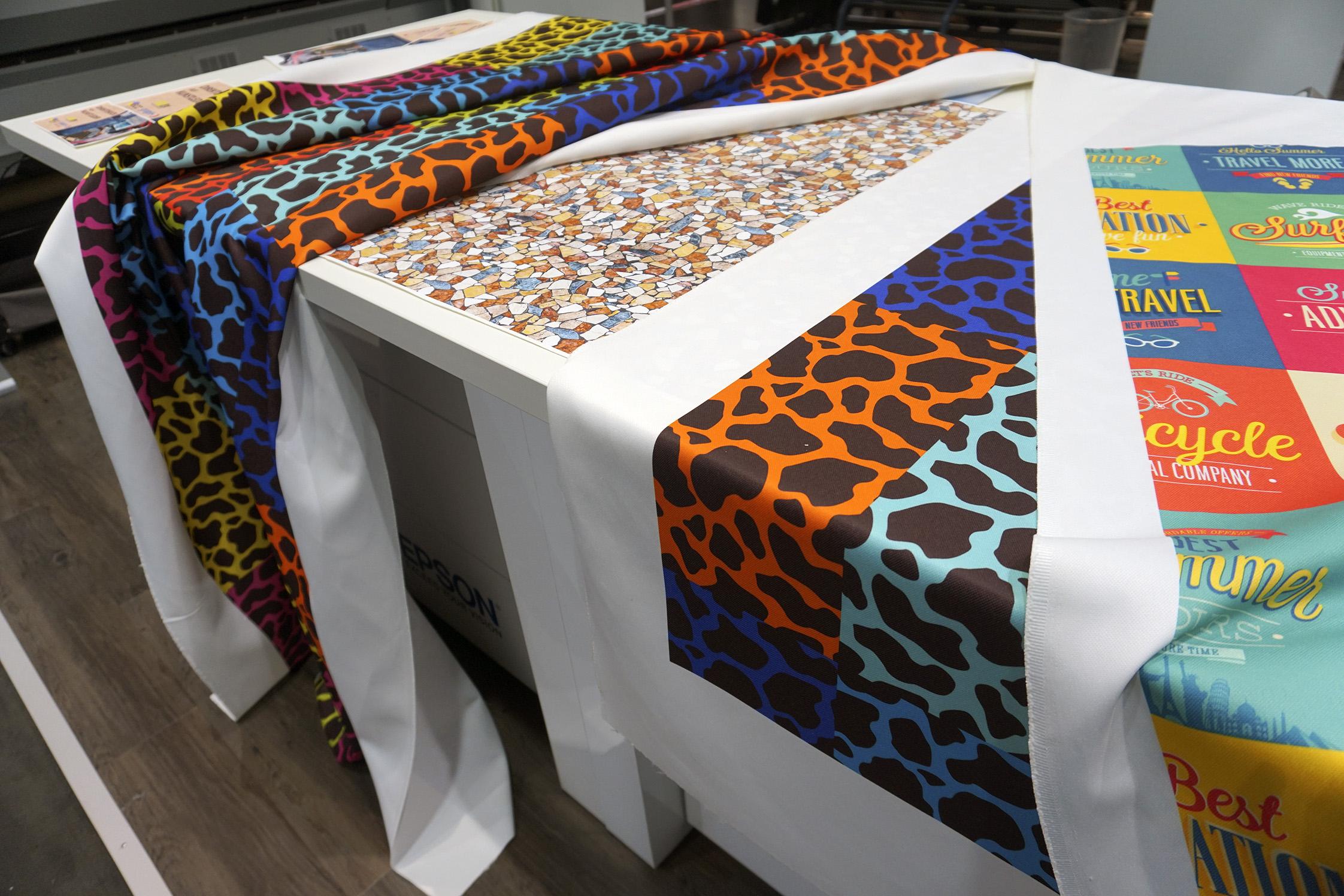 same day Fabric Printing London