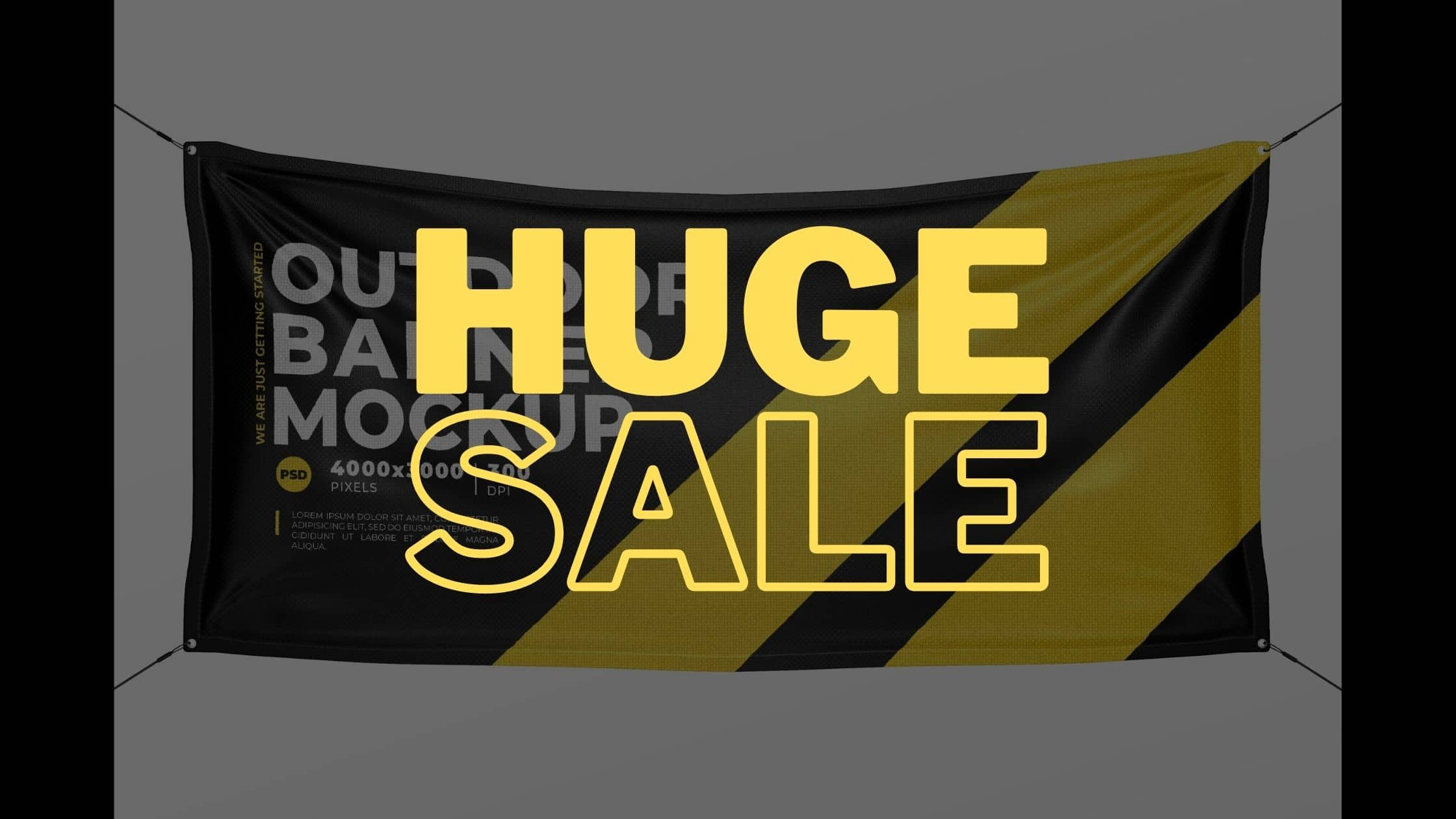 discount banner printing near me